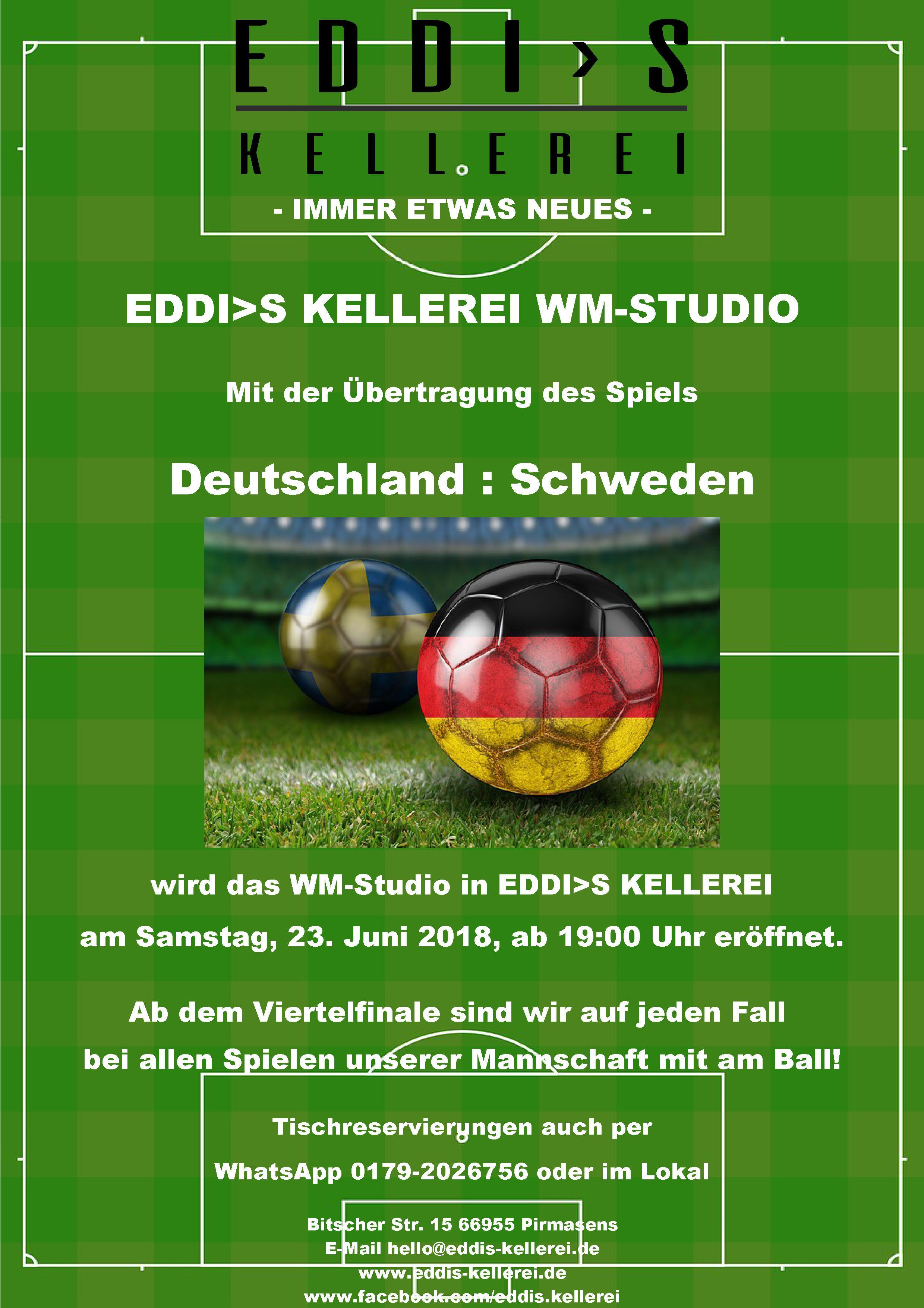 WM Studio in EDDI>S KELLEREI