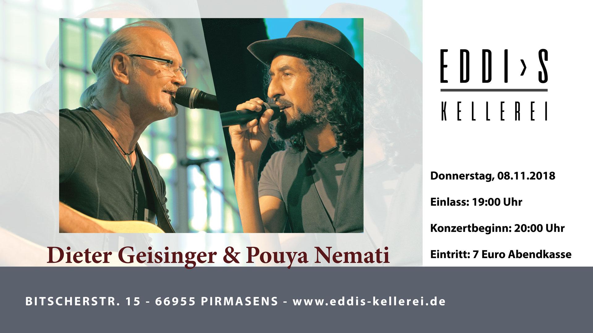 Dieter Geisinger & Pouya Nemati